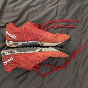 Reebok Red Crossfit Nano 5.0 Shoes